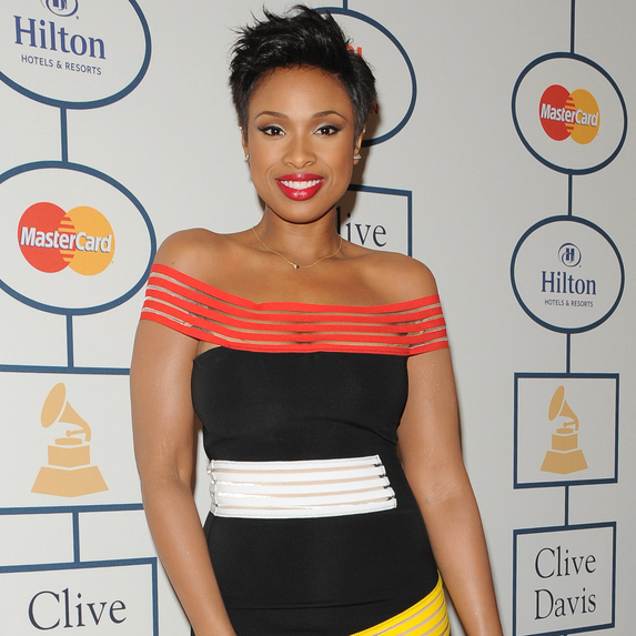 Jennifer Hudson at the Clive Davis And The Recording Academy Present The Annual Pre-GRAMMY Gala