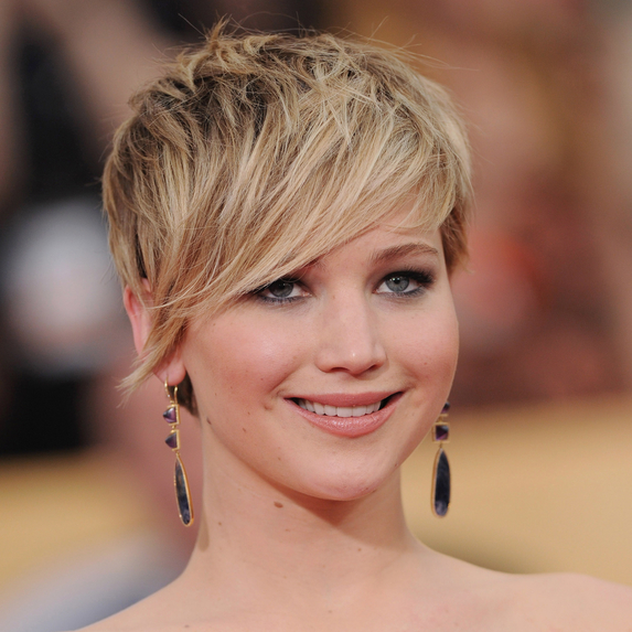 Jennifer Lawrence at the 20th Annual Screen Actors Guild Awards