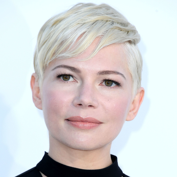 Close up of Michelle Williams at the premiere of STX Films'