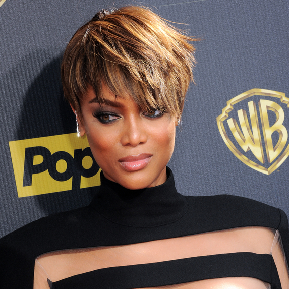 Tyra Banks at the 42nd Annual Daytime Emmy Awards