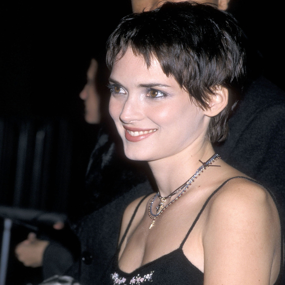 Winona Ryder in the '90s at the