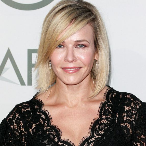 Chelsea Handler at a red carpet event