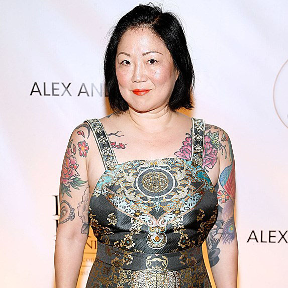 Margaret Cho on the red carpet