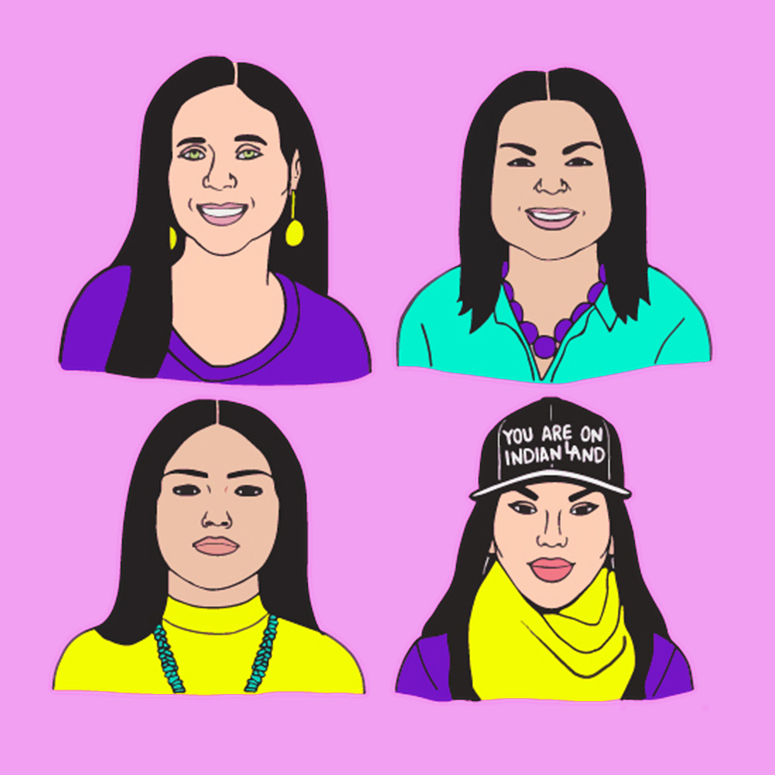 indigenous female leaders