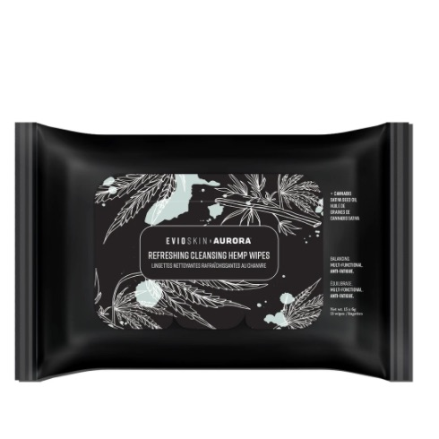 Package of single-use cleansing wipes
