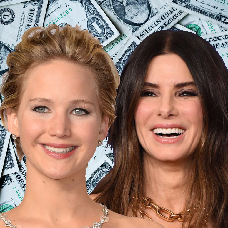 Jennifer Lawrence and Sandra Bullock are just a couple of the richest actresses in 2020