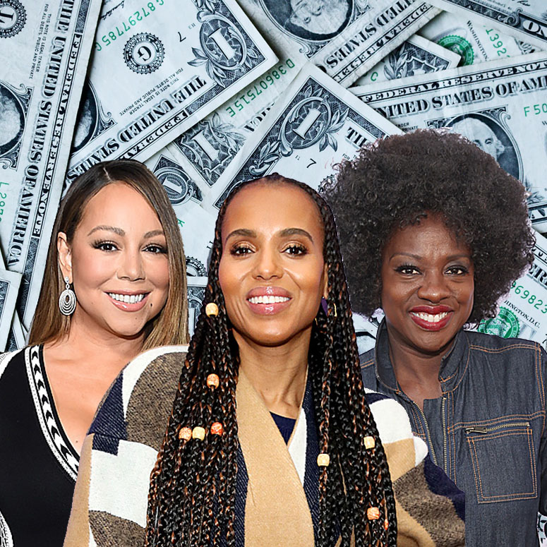 Mariah Carey, Kerry Washington, Viola Davis