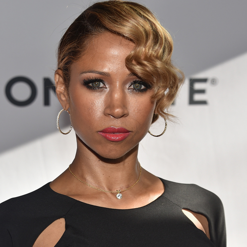 Stacey Dash looking at the camera with purpose