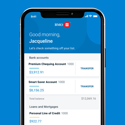 An overview of the BMO Insights app saying