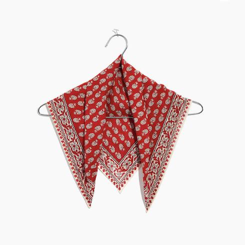 red handkerchief