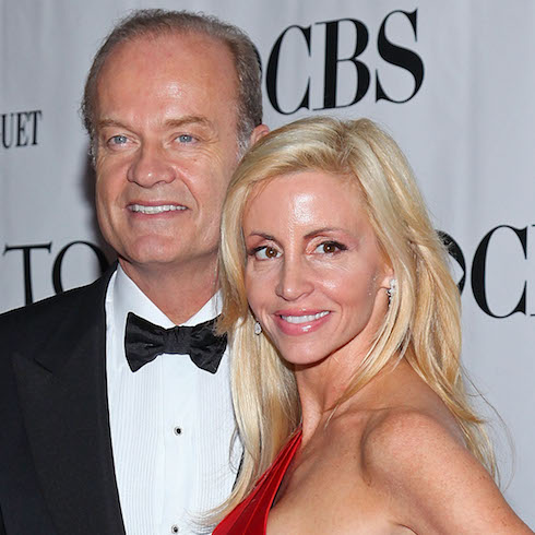 Camille and Kelsey Grammer attend the Tony Awards