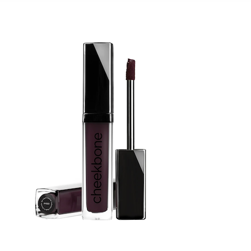 dark purple lip gloss