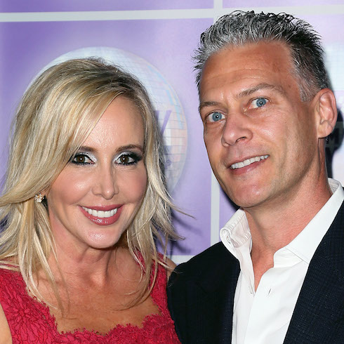 Shannon and David Beador on the red carpet