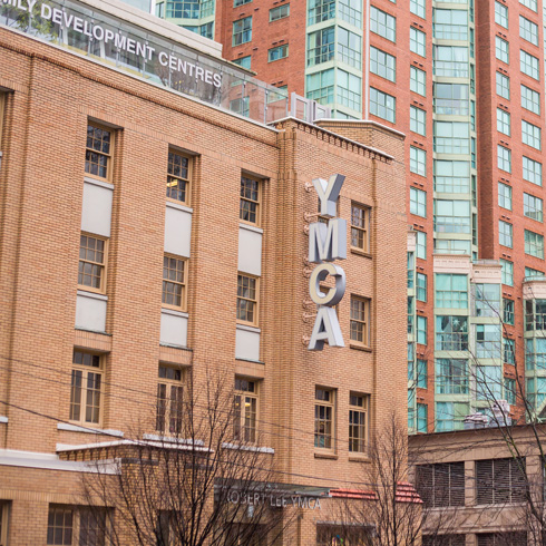 YMCA building in Vancouver