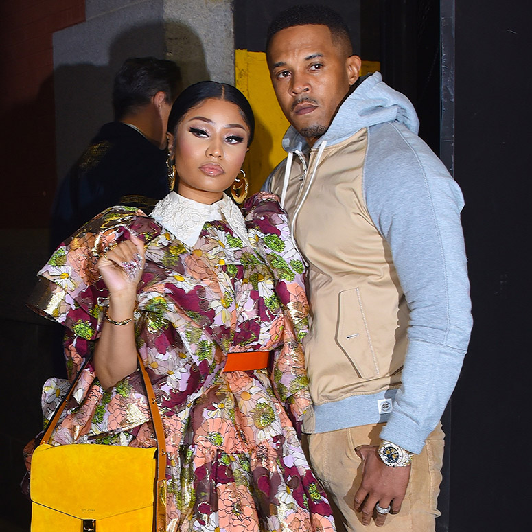 Nicki Minaj and Kenneth Petty from early 2020