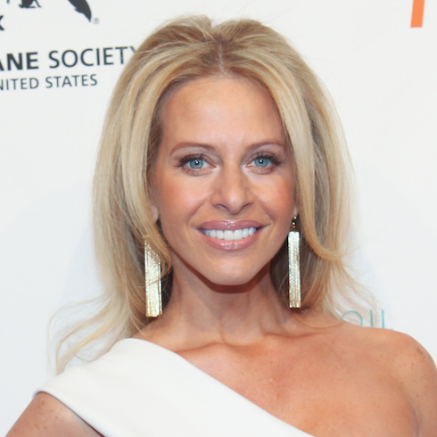 Dina Manzo on the red carpet