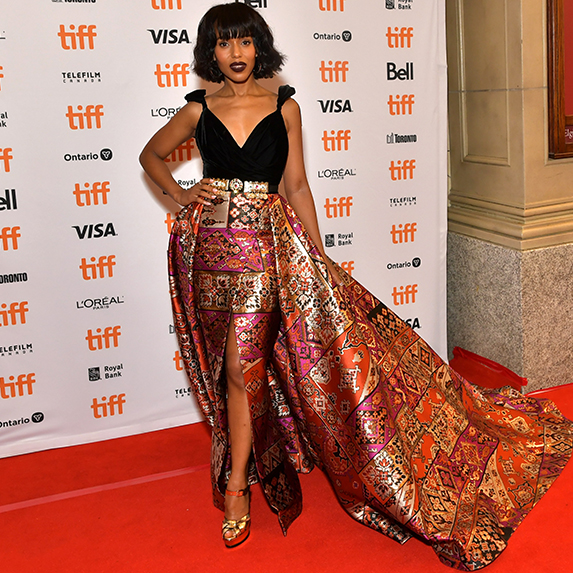 Kerry Washington attends the