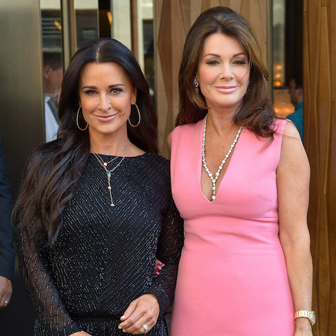 Kyle Richards and Lisa Vanderpump are spotted out and about