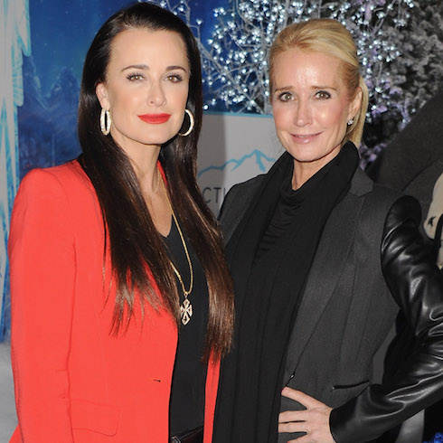 Kyle and Kim Richards on the red carpet