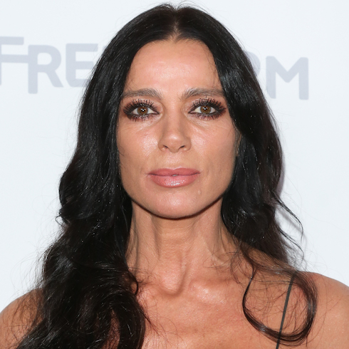 Carlton Gebbia on the red carpet