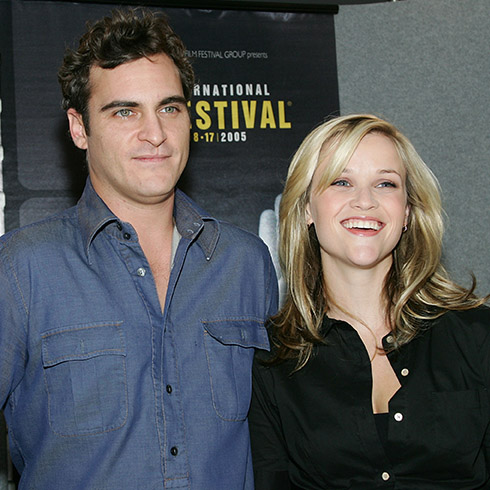 Joaquin Phoenix and Reese Witherspoon