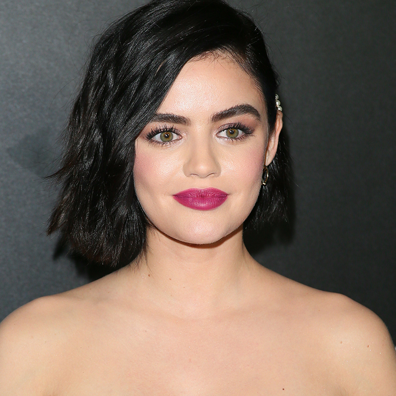 Lucy Hale attends the premiere of Columbia Pictures'