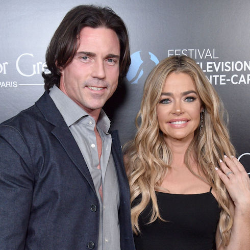 Aaron Phypers and his Real Housewife, Denise Richards of RHOBH