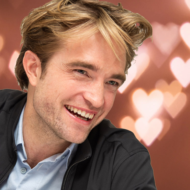 Close up of Robert Pattinson