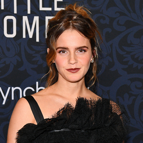 Emma Watson on the red carpet at the premiere of Little Women in 2019