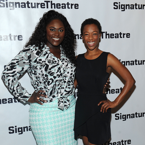 Danielle Brooks and Samira Wiley on the red carpet together