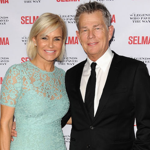 David and Yolanda Foster at the Selma premiere