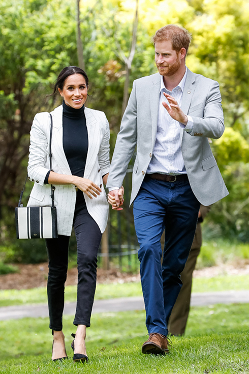 Meghan, Duchess of Sussex during day two of the Invictus Games Sydney 2018 at Sydney Olympic Park on October 21, 2018 in Sydney, Australia.