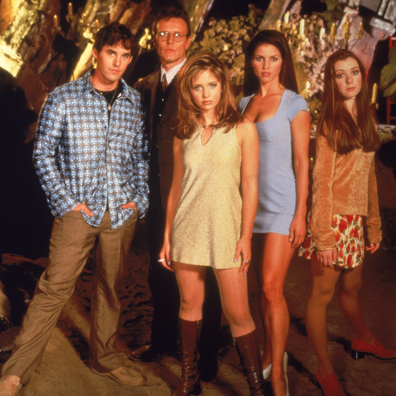 Buffy the Vampire Slayer cast from season one