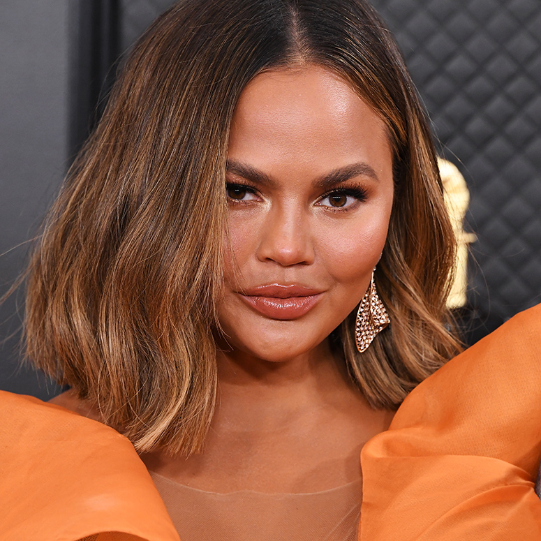 JANUARY 26: Chrissy Teigen attends the 62nd Annual GRAMMY Awards at Staples Center on January 26, 2020 in Los Angeles, California.