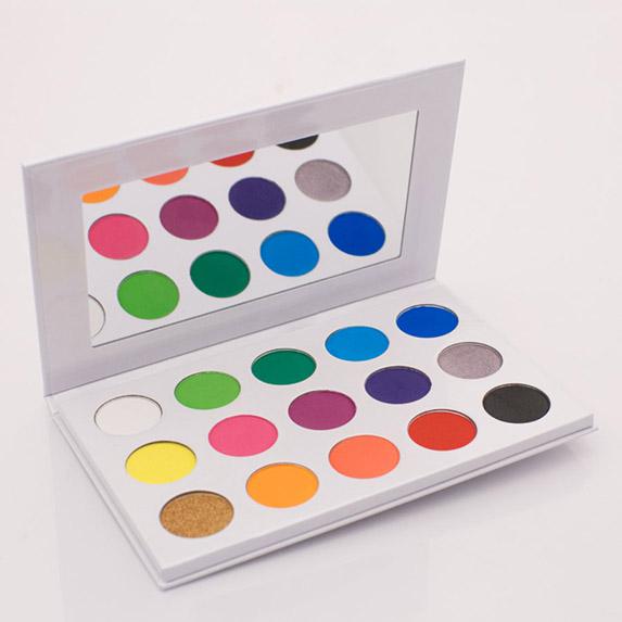 Give Face Cosmetics colour palette