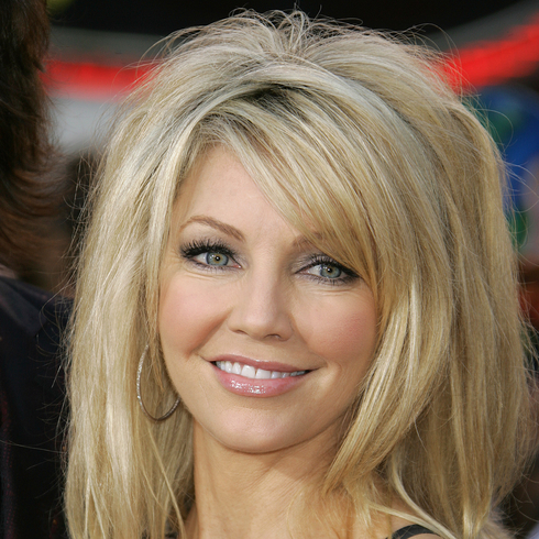 Heather Locklear smiling for the camera
