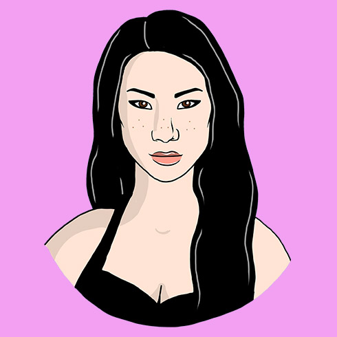 Illustration of Lucy Liu