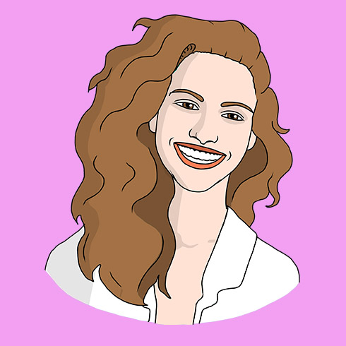 Illustration of Julia Roberts