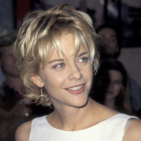Meg Ryan at a movie premier in the '90s