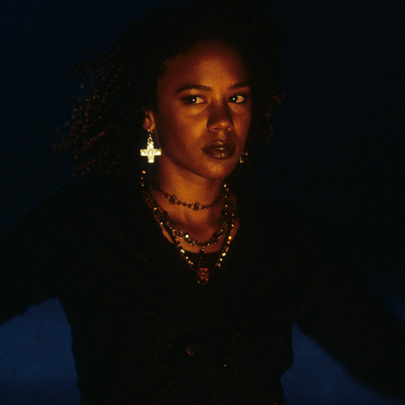 Rachel True in a scene from the film 'The Craft', 1996.